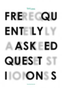 »Frequently Asked Questions«